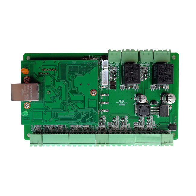 Simple access control system board TCP230