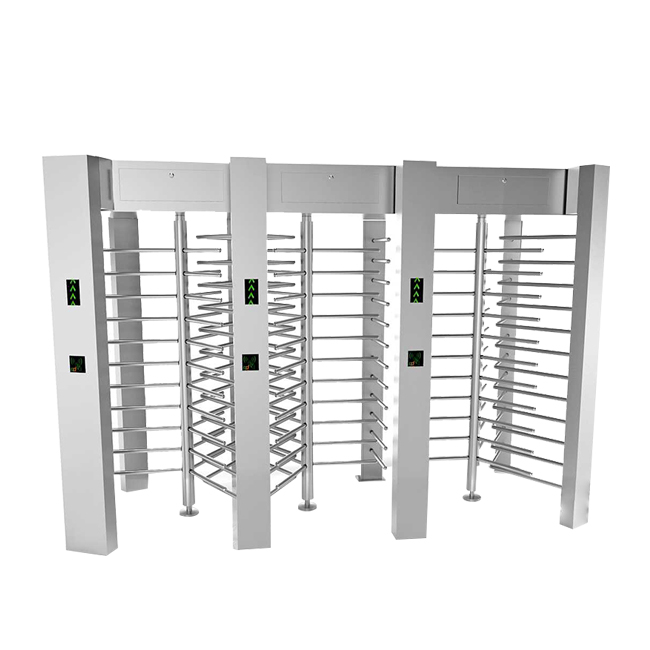 Tri-door full height turnstile CGS-6043